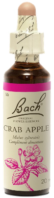 Crab Apple N°10 Fleur de Bach Original - Flacon de 20ml