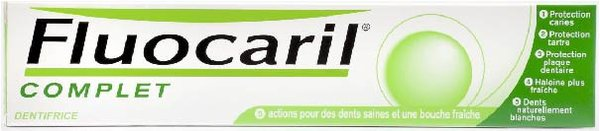 Dentifrice Complet prévention caries Fluocaril - 75 mL