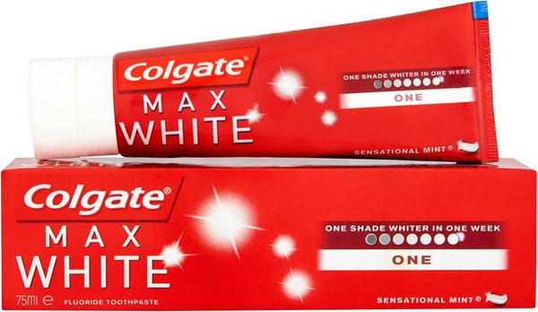 Dentifrice Max White One Blancheur goût menthe Colgate - 75 mL