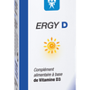 Ergy D Vitamine D3 d'origine naturelle Nutergia - Flacon de 15 mL