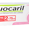 Dentifrices dents sensibles Favorise la prévention des caries Fluocaril - 2x75mL
