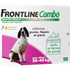 Frontline Combo Spot-on Pipettes pour chiens 20-40 kg - Taille L