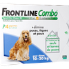 Frontline Combo Spot-on Pipettes pour chiens 10-20 kg - Taille M