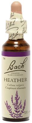 Heather N°14 Fleur de Bach Original - Flacon de 20ml