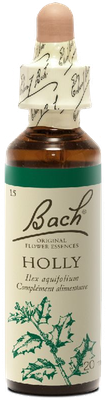 Holly N°15 Fleur de Bach Original - Flacon de 20ml
