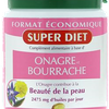 Onagre Bourrache beauté de la peau Super Diet - 200 Capsules