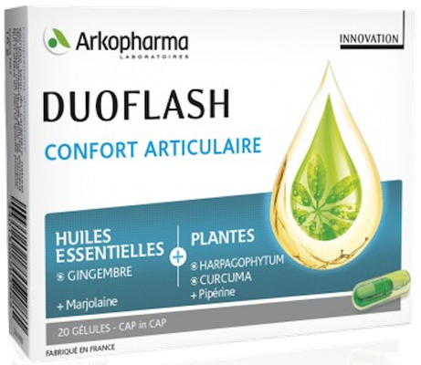 Duoflash Confort Articulaire Arkopharma - 20 Gélules
