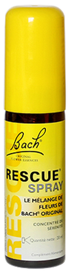 Bach Rescue Spray Concentré de Sérénité - Spray de 20ml