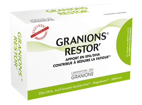 Granions Restor' Complement Alimentaire - 60 Capsules