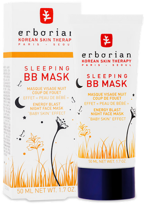 Masque Visage Nuit Sleeping BB Mask Erborian - Tube de 50ml