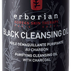 Huile Démaquillante Purifiante au Charbon Black Cleansing Oil Erborian - Flacon de 190ml