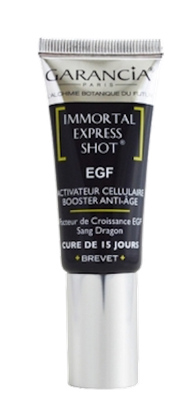 Immortal Express Shot EGF Garancia - Tube de 15ml