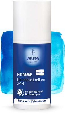 Déodorant Roll-on 24H Homme Weleda - Roll-on 50 ml