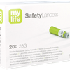 Pura mylife SafetyLancets Confort Ypsomed Boite de 200 - 28G