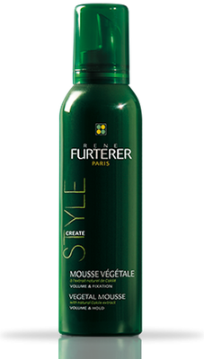 Style Mousse Végétale Volume & Fixation Furterer - Flacon de 200 mL