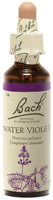 Water Violet N°34 Fleur de Bach Original - Flacon de 20ml