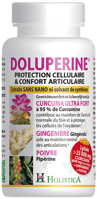 Doluperine - Protection cellulaire & confort articulaire - 60 capsules - Holistica